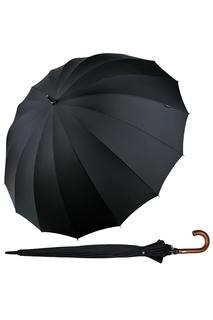 """Черный зонт-трость """"Президент"""" Goroshek"""