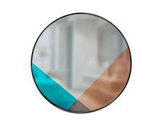 Зеркало со вставками (четырехцветное) Garda Decor