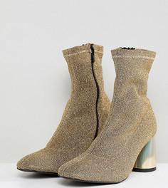 Блестящие ботинки Free People - Золотой
