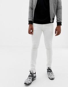Белые джинсы скинни Jack & Jones - Белый