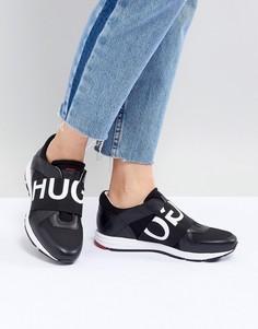 Кроссовки с логотипом HUGO - Черный
