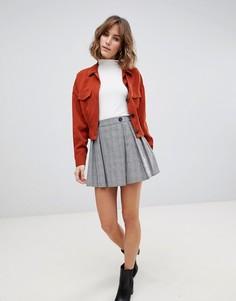 Плиссированная мини-юбка Side Party Kate - Мульти