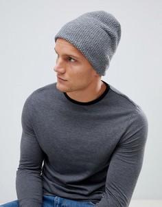 Серая шапка-бини Esprit - Серый