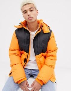Оранжевая дутая куртка два-в-одном SWEET SKTBS X Helly Hansen - Оранжевый