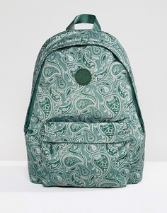 Зеленый рюкзак с принтом Pretty Green - Зеленый