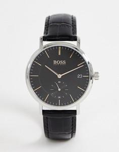 Часы с кожаным ремешком BOSS 1513638 Corporal - Черный