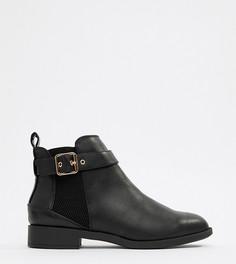Ботинки челси на плоской подошве Miss KG - Черный