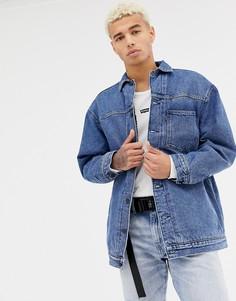 Свободная куртка на подкладке Levis Line 8 - Синий