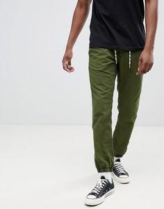 Джоггеры с манжетами Esprit - Зеленый