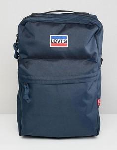 Мини-рюкзак с логотипом в стиле ретро Levis - Темно-синий Levis®