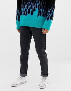 Черные джинсы скинни Weekday friday trotter - Черный