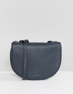 Темно-синяя сумка через плечо Matt & Nat opia - Темно-синий
