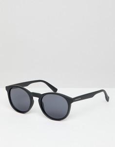 Черные круглые солнцезащитные очки Hawkers Bel-Air - Черный
