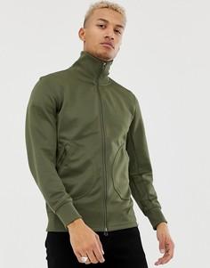 Спортивная куртка оливкового цвета adidas Originals XBYO - Зеленый