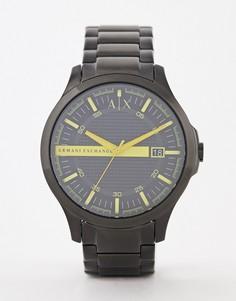 Наручные часы Armani Exchange AX2407 Hampton - 46 мм - Черный