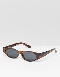 Солнцезащитные очки Weekday - Коричневый