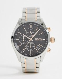Часы BOSS 1513473 Grand Prix - Серебряный