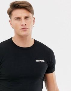Черная футболка Roberto Cavalli - Черный