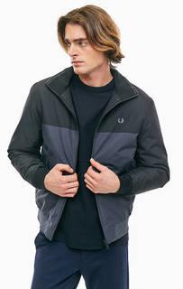 Демисезонная куртка на молнии с карманами Fred Perry