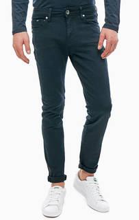 Синие джинсы с скинни с застежкой на молнию и болт Sax Gas