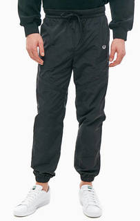 Черные брюки джоггеры с карманами Fred Perry