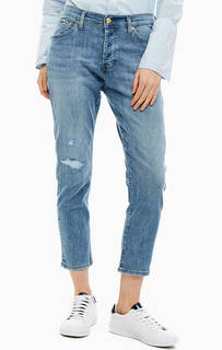 Синие укороченные джинсы бойфренд Jamira Gas