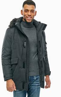 Удлиненная зимняя куртка с карманами Gaudi