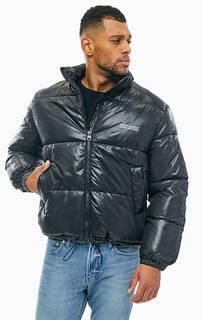 Короткая демисезонная куртка черного цвета Cheap Monday