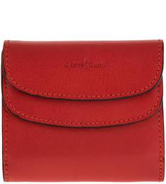 Кожаное портмоне с двумя отделами для купюр Gianni Conti