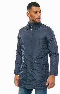 Демисезонная синяя куртка с шестью карманами Geox