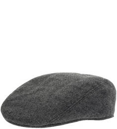 Серая шерстяная кепка Lacoste