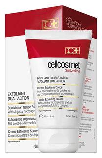 Мягкий отшелушивающий крем двойного действия Cellcosmet&Cellmen