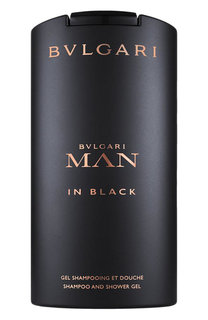Шампунь гель для душа Man In Black BVLGARI