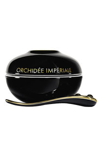 Крем Orchidée Impériale Black в фарфоровой упаковке Guerlain