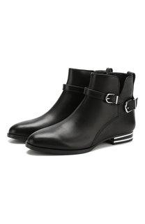 Кожаные ботинки Lacey с ремешками DKNY