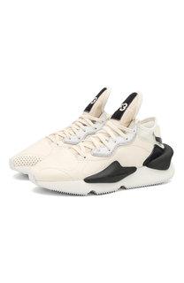 Кожаные кроссовки Kaiwa на шнуровке Y-3