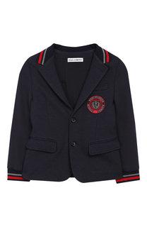 Пиджак джерси на двух пуговицах Dolce & Gabbana