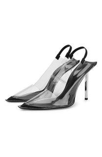 Прозрачные туфли Marlow на шпильке Alexander Wang