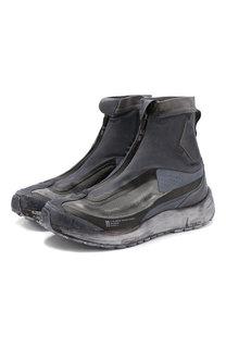 Высокие текстильные кроссовки Salomon x 11 BY BBS Bamba 2 без шнуровки 11 by Boris Bidjan Saberi