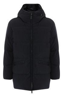Пуховая куртка Montsouris на молнии с капюшоном Moncler