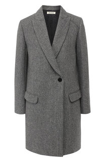 Шерстяное пальто на одной пуговице Zadig&Voltaire