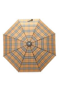 Складной зонт в клетку Vintage Check Burberry