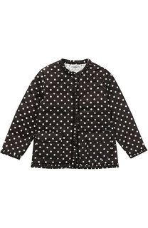 Куртка в горох с накладными карманами Dolce & Gabbana