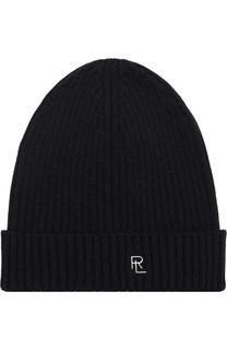 Шерстяная шапка с логотипом бренда Ralph Lauren