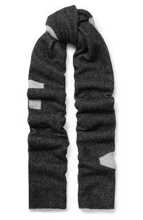 Шерстяной шарф с принтом Acne Studios