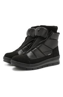 Утепленные текстильные ботинки Jog Dog