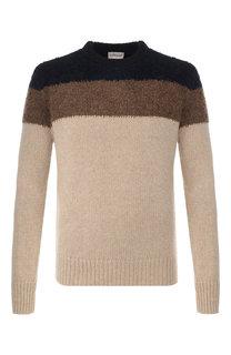 Шерстяной свитер с принтом Moncler