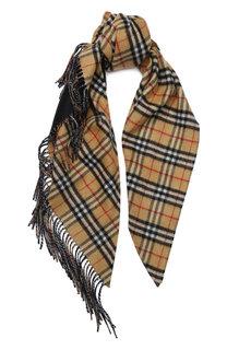 Кашемировый шарф Bandana в клетку Burberry