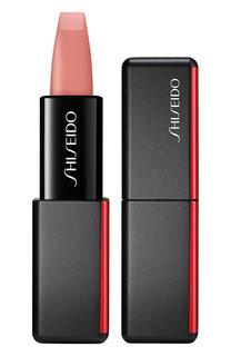 Матовая помада для губ ModernMatte, 501 Jazz Den Shiseido