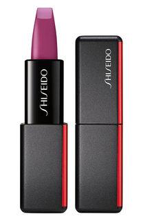 Матовая помада для губ ModernMatte, 520 After Hours Shiseido